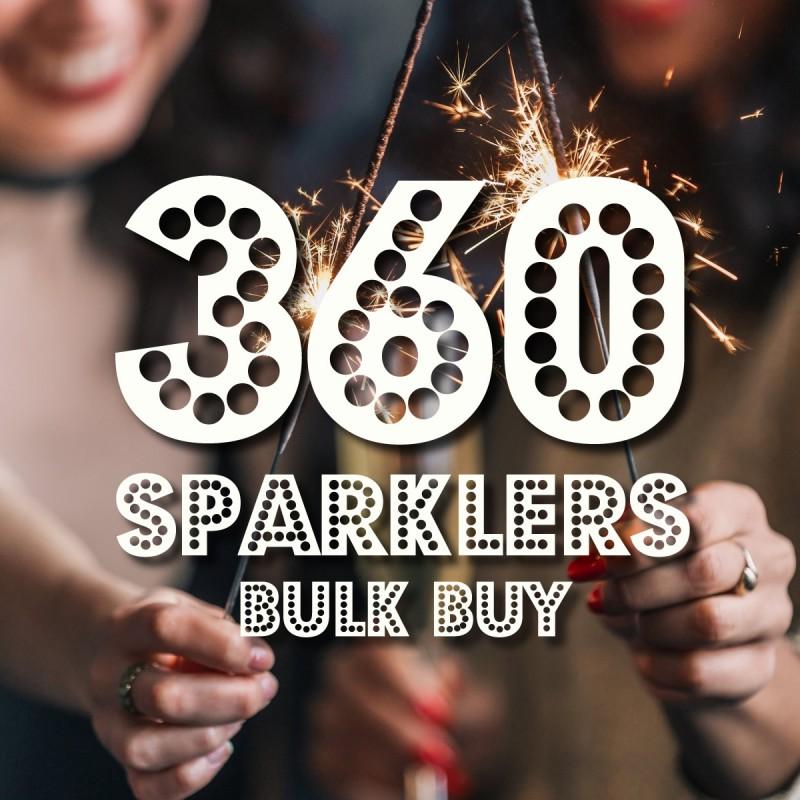 40cm Giant Handheld Sparklers x 360 **BULK BUY OFFER**