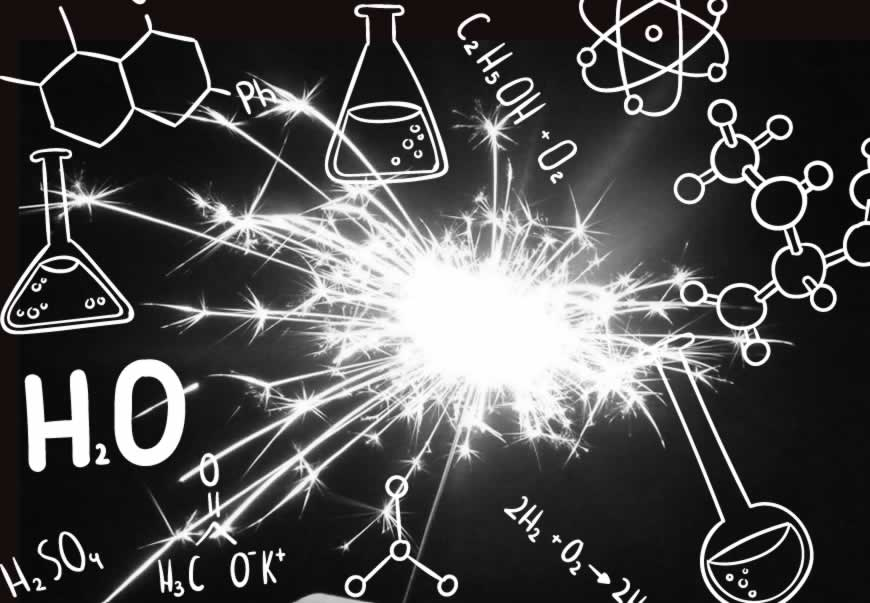 Sparkler Chemistry: Main Components